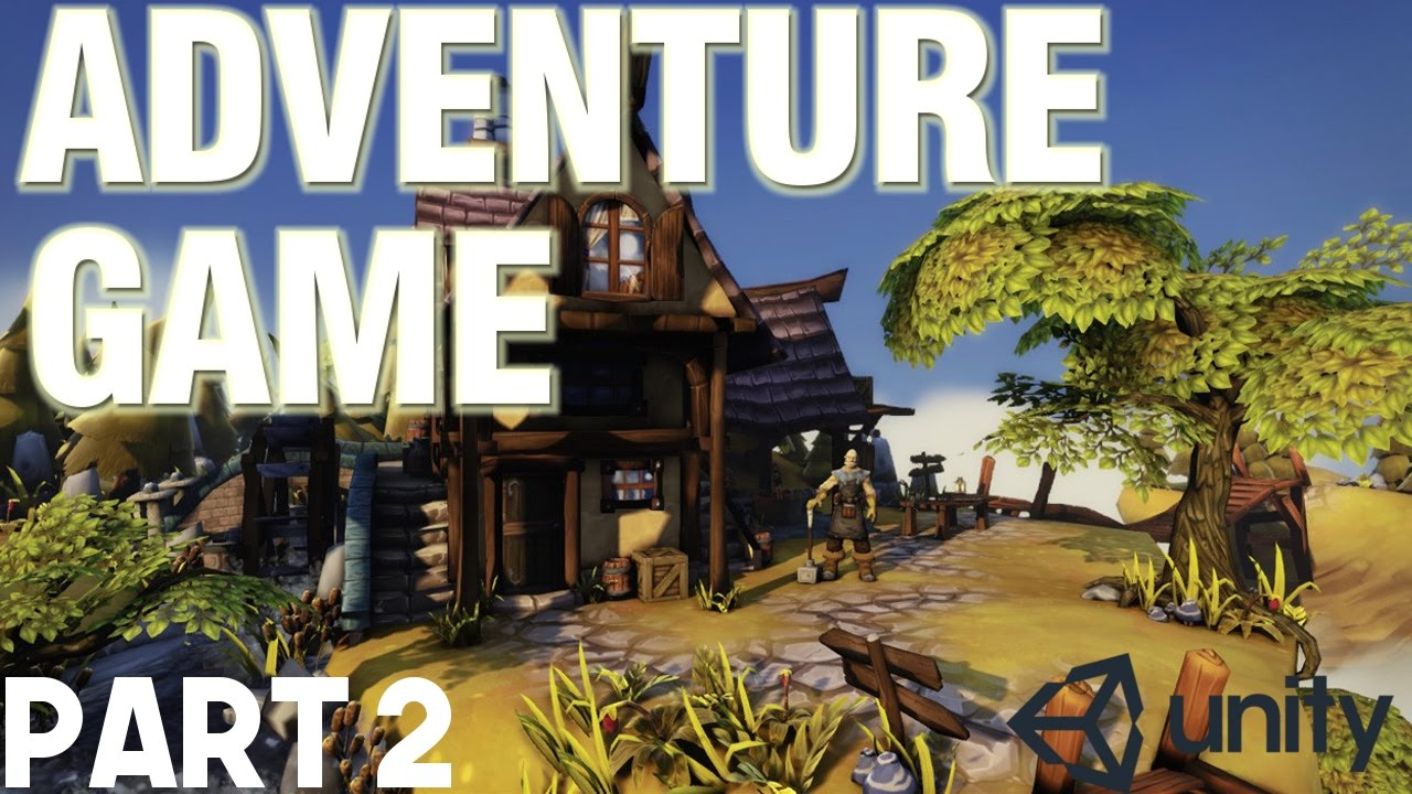 Unity Adventure Game Tutorial #2 - Third Person Camera