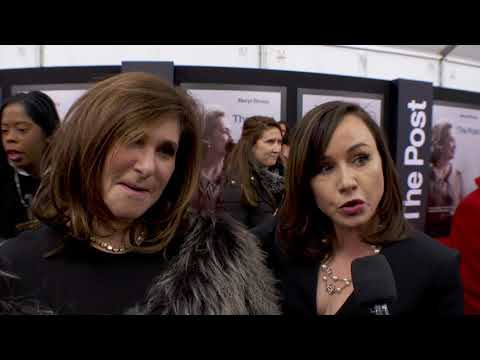 The Post World Washington World Premiere - Itw Amy Pascal, Kristie Krieger (official video)