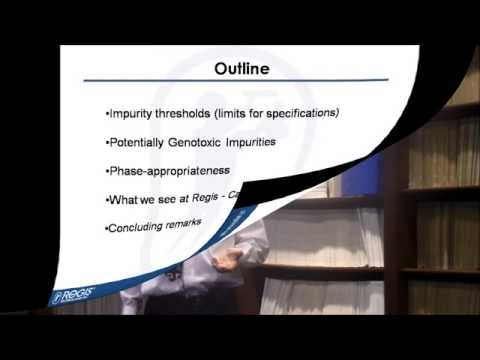Selected Case Studies and Impurity Strategies for Drug Substances by Paul Wrezel, Ph.D. (Full)