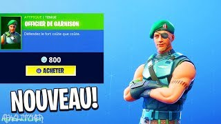 New GARRISON Skin! Fortnite Battle Royale