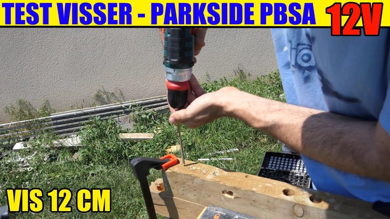 Perceuse-visseuse PARKSIDE PBSA 12 D2 12V