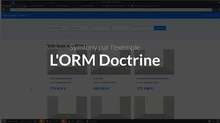 Symfony 4 par l'exemple (3/16) : Découverte de doctrine