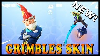 "NEW ""GRIMBLES"" SKIN in FORTNITE - FORTNITE PRESENTS AROUND THE MAP! // Playing With SUBSCRIBERS"