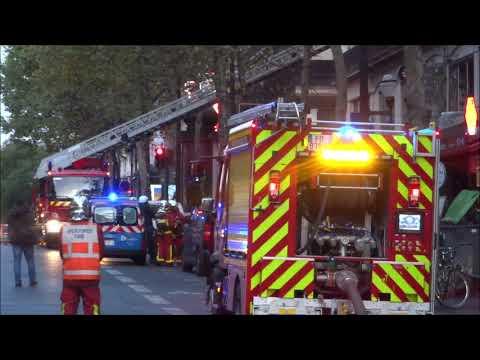Incendie De Restaurant Pompiers De Paris En Urgence Restaurant Fire Paris Fire Dept Responding