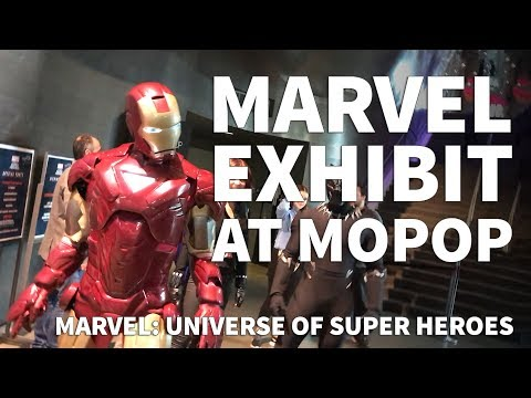 Marvel Exhibition at MoPop Seattle – Opening Night of Marvel Universe of Super Heroes
