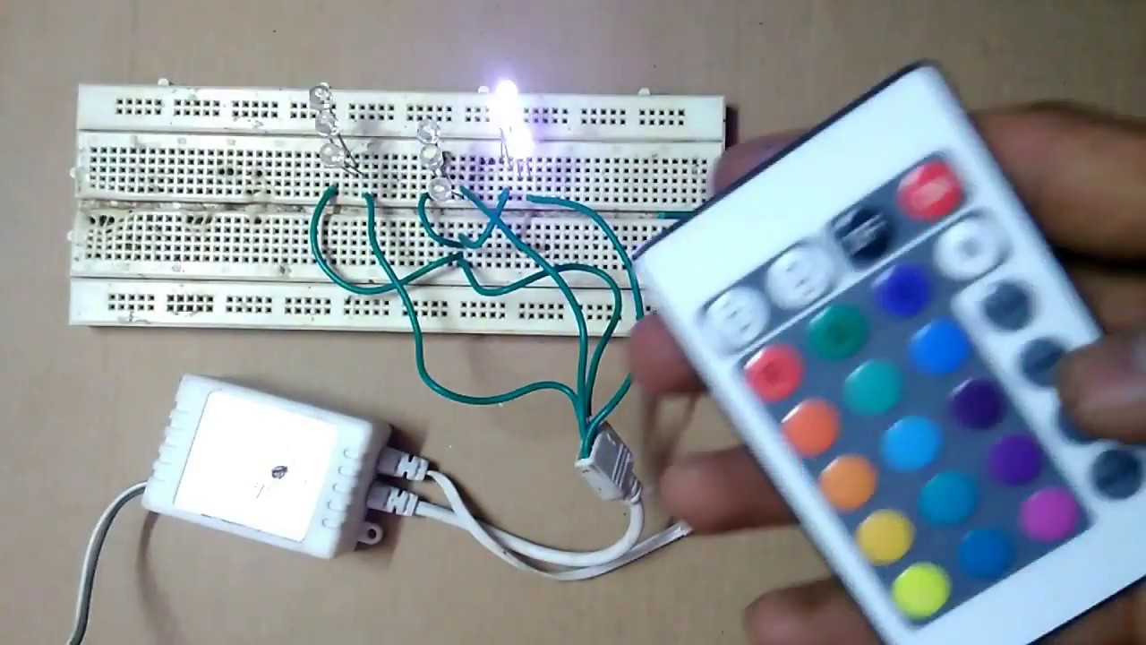 small resolution of how to make rgb led strip remote control circuit part 1