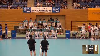 2019年IH ハンドボール 男子 1回戦 岩国工業(山口)VS 湯沢(秋田)