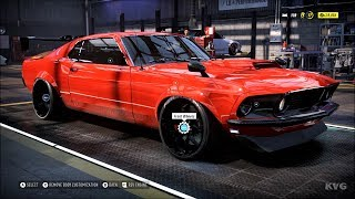 Need for Speed Heat - Ford Mustang BOSS 302 1969 - Customize   Tuning Car (PC HD) [1080p60FPS]