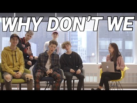 DAD JOKES & SINGPHONY W/ WHY DON'T WE BOYS!! // Andree Bonifacio
