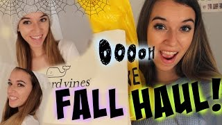 HUGE Fall Clothing Haul!: Forever21, J Crew and more!