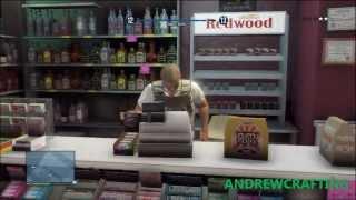 GTA 5 Online : Robbing store glitch ( Unlimited Money )