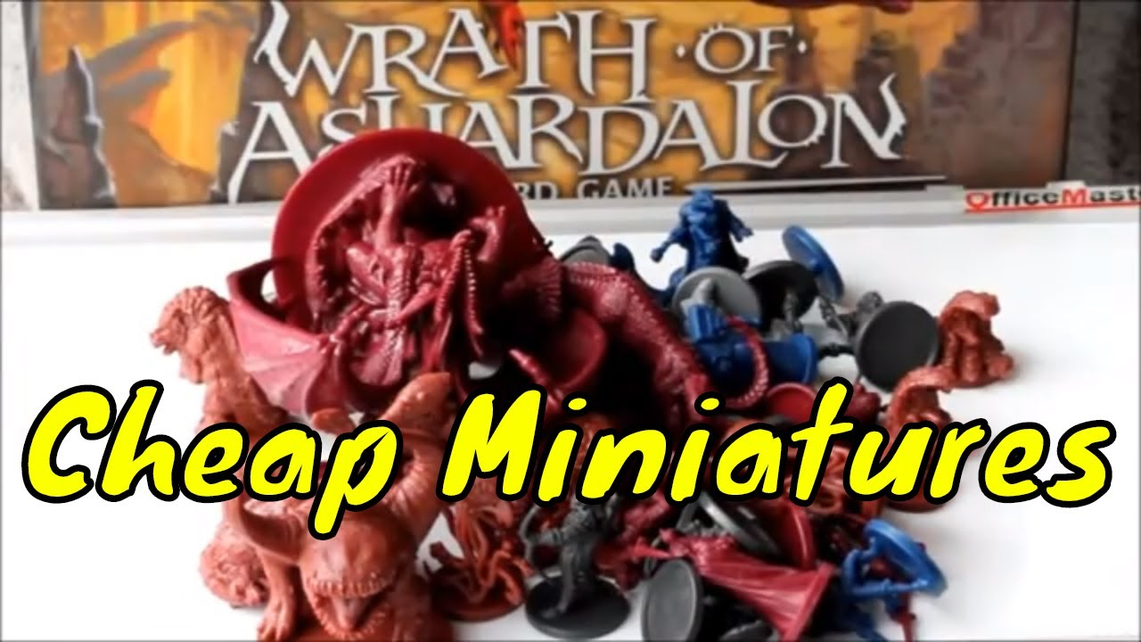 Where to buy cheap Official D&D miniatures