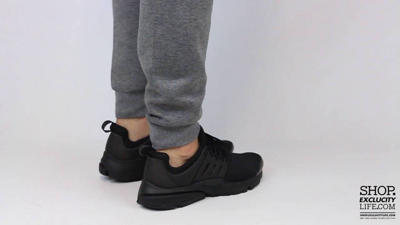 d170214853aa8 Nike Presto Triple Black On feet Video at Exclucity - YouTube