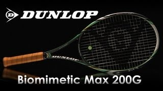Dunlop Biomimetic Max 200G Racquet Review