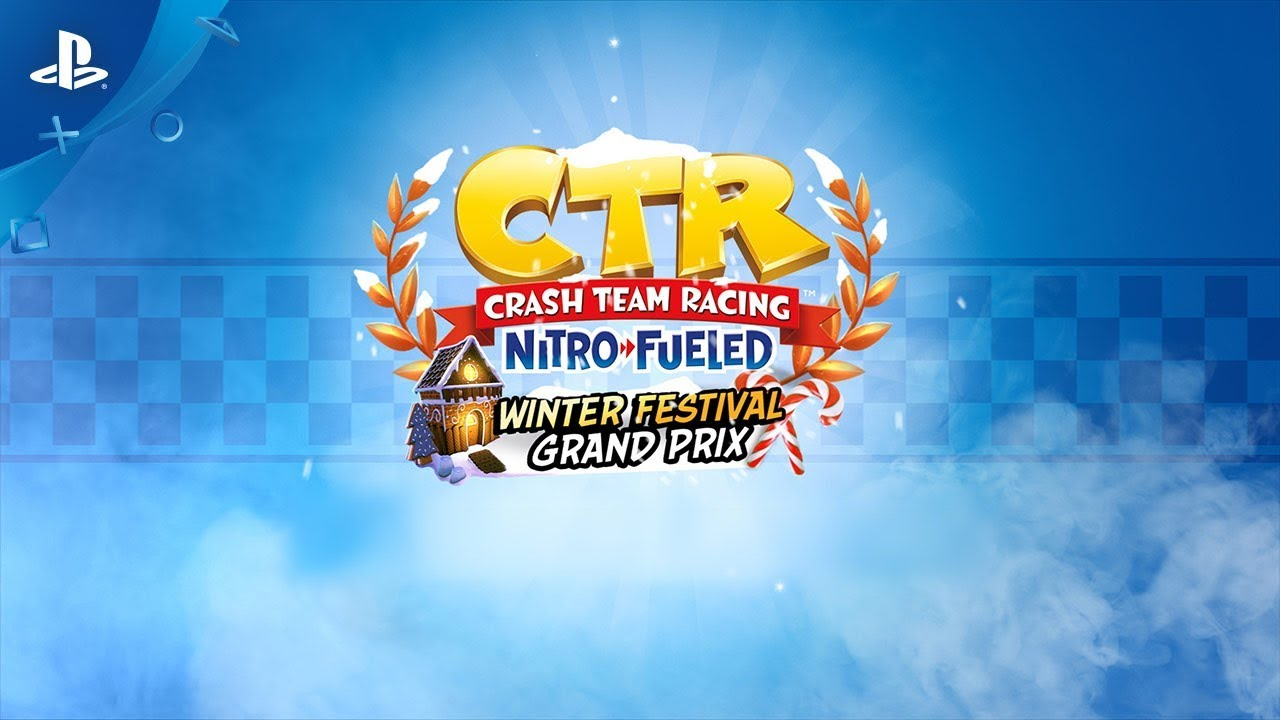 Crash Team Racing Nitro-Fueled - Winter Festival Grand Prix Trailer | PS4