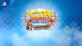 Crash Team Racing Nitro-Fueled - Winter Festival Grand Prix Trailer | PS4