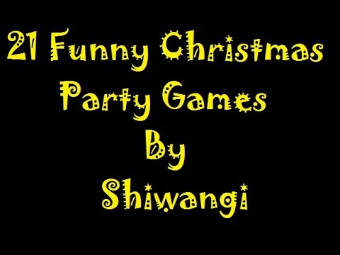 21 Christmas Party Games For Your December Kitty Party