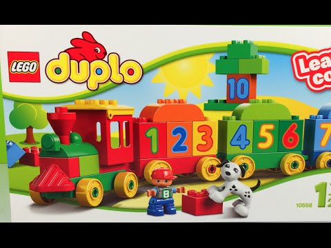 Lego Duplo Learn to Count train or learn the colors with this tank ...