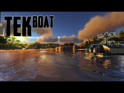 """TEK BOAT Bullying & Deporting """"BLPP"""" Off Of Island 6   Ark Official PvP"""