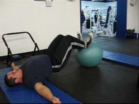 bodyweight leg curls glute hamstring workout  youtube