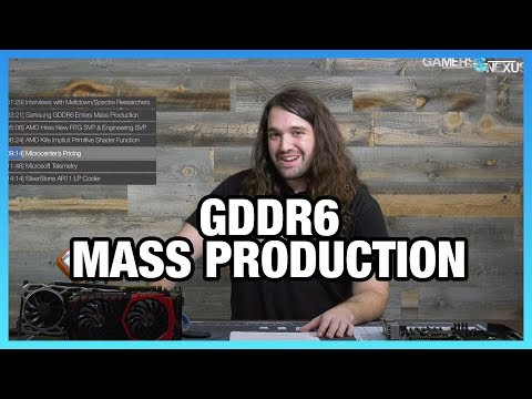 HW News: GDDR6 Enters Mass Production, MSFT Telemetry