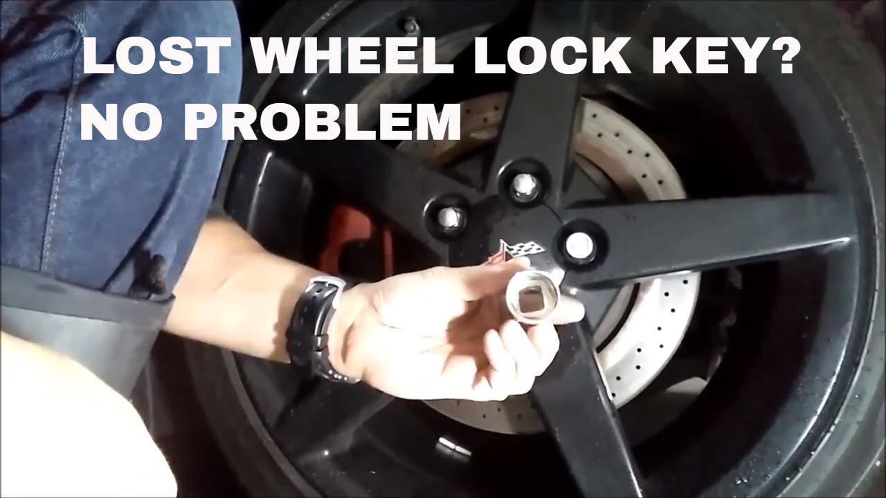 How To Remove Wheel Lock Nut Without Wheel Lock Key On A