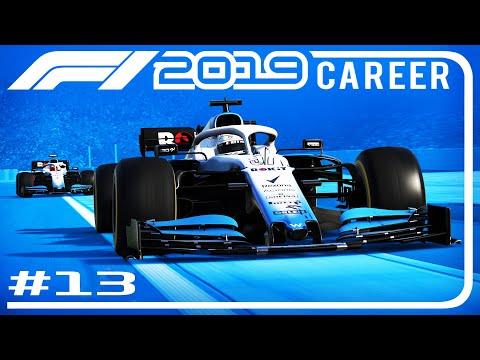 F1 2019 Career Mode Part 34   3 WIDE INTO TURN 1   Belgian GP