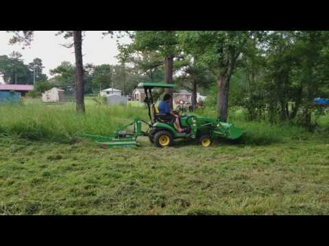 John Deere 1025r Rotary Cutter To The Max