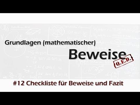 Beweisen, leicht erklärt - 10. Der Widerspruchsbeweis from YouTube · Duration:  16 minutes 47 seconds