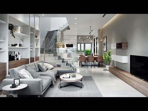 Lovely Living Room Staircase Interior Decor Youtube | Staircase Inside Living Room | Kitchen Stair | Apartment | Inside Lounge | Staircase Tv | Private Home