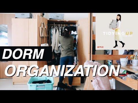 DORM ORGANIZATION | lessons from Marie Kondo