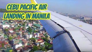 Cebu Pacific Landing in Manila Airport | Ninoy Aquino International Airport