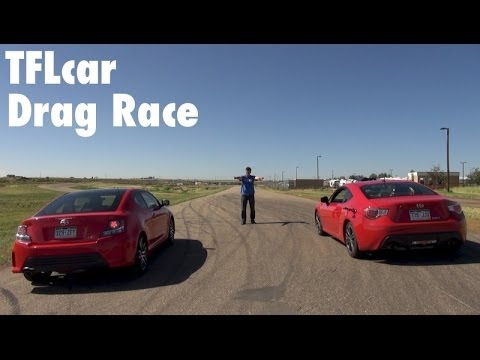 Scion Tc Engine Mods - Scion FR-S vs Scion tC Drag Race Part 1: And the best Scion Sports car is?