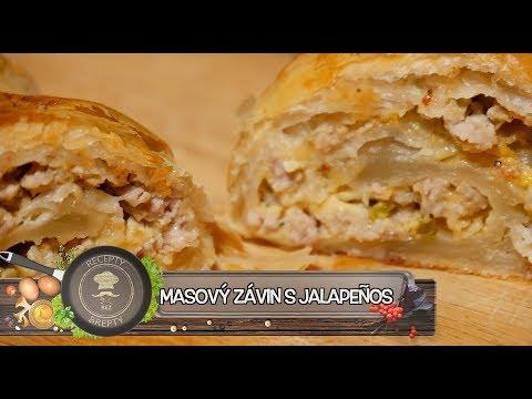 Masový závin s Jalapeño - Jednoduchý a hodně ostrý štrůdl!
