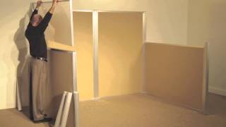 Hush Panel Fully Configurable Cubicle System