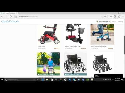 san francisco wheelchair rental