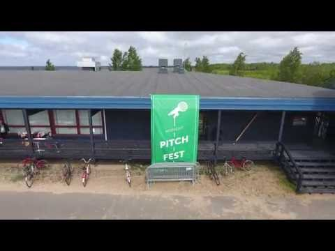 Ultrahack at Midnight Pitch Fest 2016 in Oulu (4K Drone Footage)