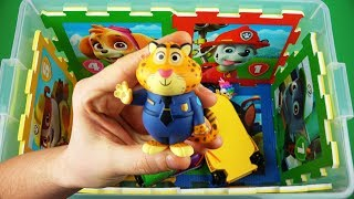 Learn for kids (characters, vehicles, colors) - Paw Patrol, Insects, Princess Holly, Peppa Pig asf