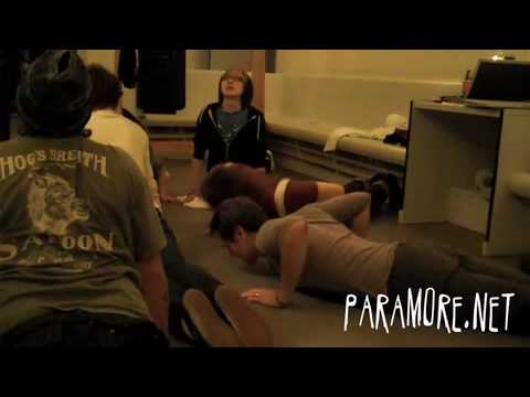 Paramore: Copenhagen Work Out
