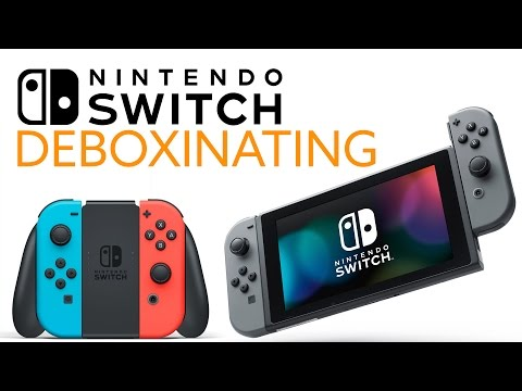 Nintendo Switch UNBOXING! HARDWARE PREVIEW! - The Know