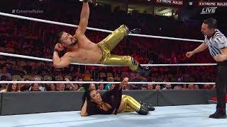 LUCHA COMPLETA - Andrade Cien Almas vs. Sin Cara: Extreme Rules 2018ᴴᴰ