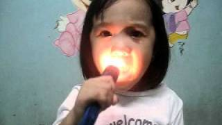 Cover by a 3 Year Old Girl Singing Bahay Kubo