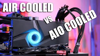 AIO vs Air Cooled Video Cards... worth the extra cost?