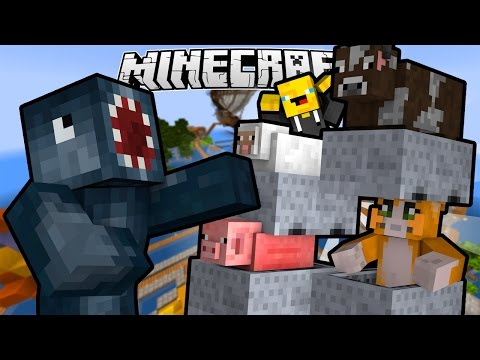 Minecraft - TIME TRAVELLERS! - ANIMAL STACKER! #30 W/Stampy & Ash!
