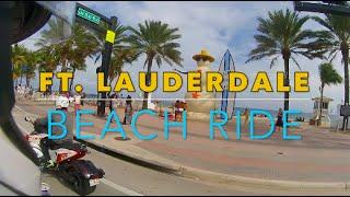 Fort Lauderdale Beach MOTORCYCLE RIDE FTL