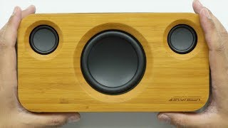 Amazing Bamboo Speaker with Sub – Black Friday Deal!
