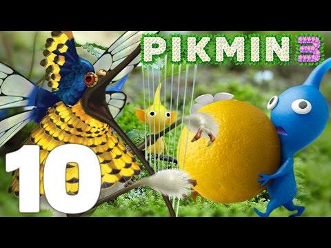 Pikmin 3 Episode 10 FR Wii U | BOSS + NOUVEAUX PIKMINS BLEUS !