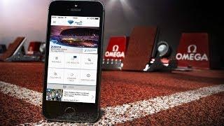IAAF Diamond League App - created by Omega