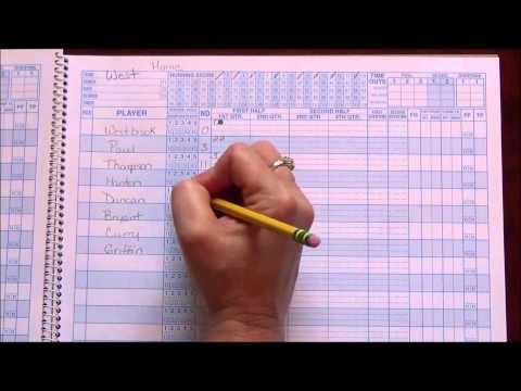 Basketball Scorebook 101