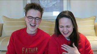 John Lewis Christmas Advert 2016   Reaction with Tom